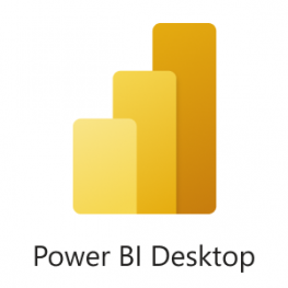 Logotipo Power BI Desktop